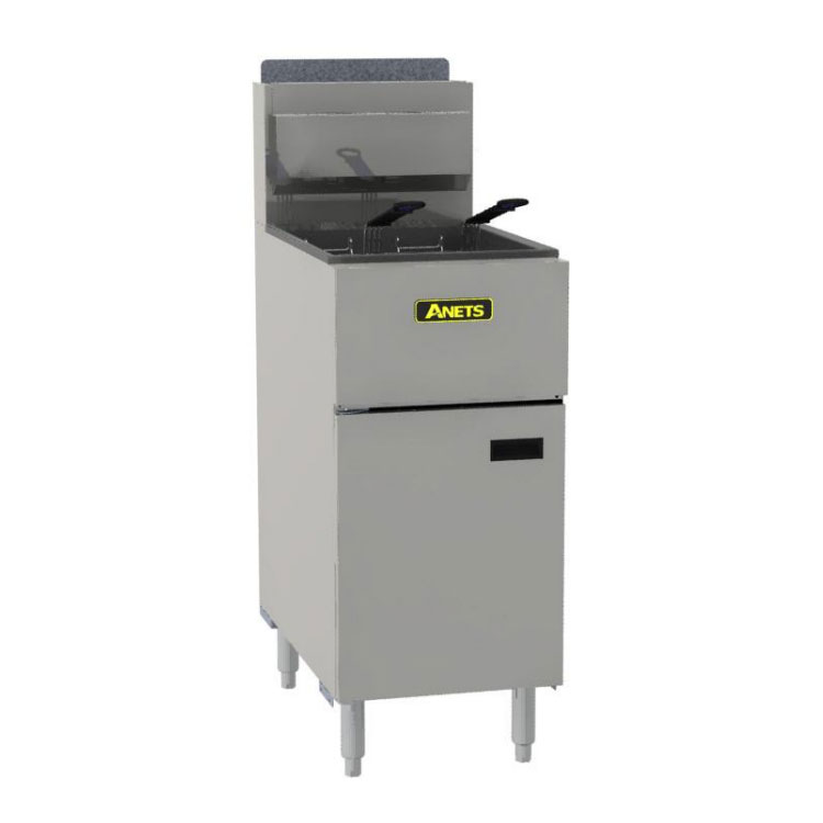 Anets SLG50 Gas Fryer - (1) 50-lb Vat, Floor Model, LP