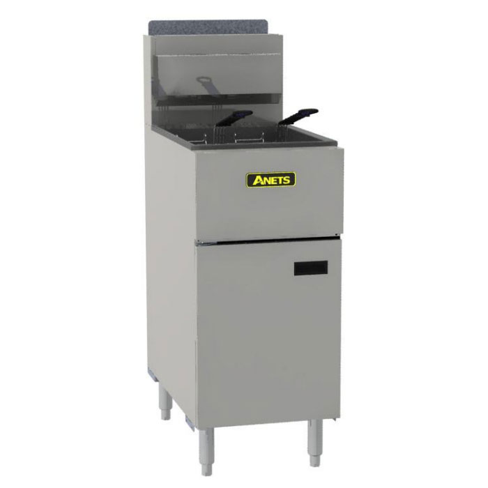 Anets SLG50 Gas Fryer - (1) 50-lb Vat, Floor Model, NG