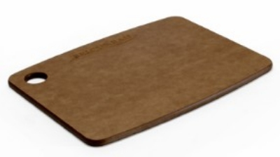 "Epicurean 001-080603 8 x 6"" Lightweight Cutting Board, NSF Recycled Paper, Nutmeg"