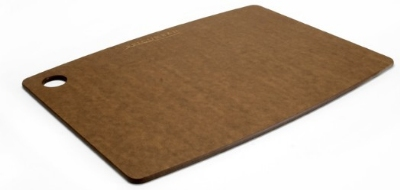 "Epicurean 001-151103 15 x 11"" Lightweight Cutting Board, NSF Recycled Paper, Nutmeg"