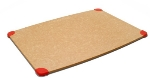 Epicurean 002-15110101 Gripper Cutting Board, 15 x 11-in, Natural w/ Red Corners