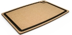 "Epicurean 003-201501025EA Cutting Board w/ Juice Groove, 20 x 15"", Natural/Slate"