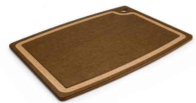 Epicurean 003181303015EA Cutting Board w/ Juice Groove, 18 x 13-in, Nutmeg/Natural