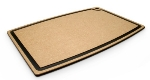 "Epicurean 006-27180102 27 x 18"" Cutting Board w/ Juice Groove, Natural w/ Slate Core"