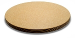 "Epicurean 014-001801025 Big Block Cutting Board,18"" Round,1"" Thick, Natural/Slate"