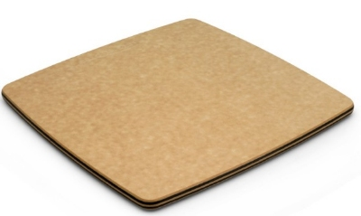 Epicurean 020-120803015 12 x 8-in Oval Cheese Board, Eco Friendly, Nutmeg w/ Natural Trim