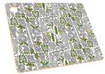 Epicurean 026-141101204 14 x 11-in Cutting Board, NSF Recycled Paper, Veggie Pattern