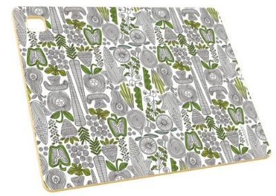 Epicurean 026-141101204 14 x 11-in Cutting Board, NSF Recycled Paper, Veggie Pattern
