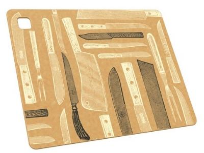Epicurean 026-141101205 14 x 11-in, Cutting Board, Nonstick Safe, Knives Pattern
