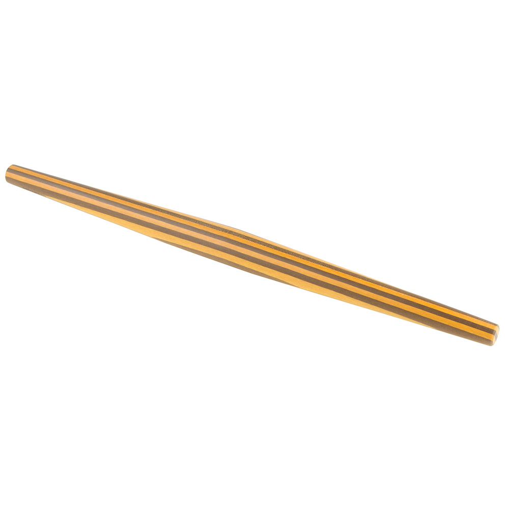 """Epicurean 029-30305 20"""" French Rolling Pin - Wood, Yellow/Nutmeg"""