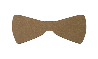 "Epicurean 032-BTIE0301 Hipster Bow Tie Cutting Board, 22x9x.25"", Nutmeg"