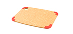 "Epicurean 202-12090101 Non Slip Cutting Board, 11.5x9"", Natural/Red"