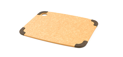 Epicurean 202-12090102 Non Slip Cutting Board, 11.5x9-in, Natural/Brown
