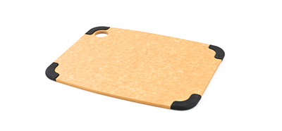 Epicurean 202-12090103 Non Slip Cutting Board, 11.5x9-in, Natural/Slate