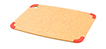 Epicurean 202-15110101 Non Slip Cutting Board, 14.5x11.25-in, Natural/Red