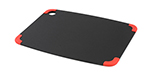 Epicurean 202-15110201 Non Slip Cutting Board, 14.5x11.25-in, Slate/Red