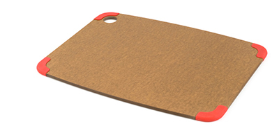 Epicurean 202-15110301 Non Slip Cutting Board, 14.5x11.25-in, Nutmeg/Red