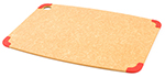 Epicurean 202-18130101 Non Slip Cutting Board, 17.5x13-in, Natural/Red