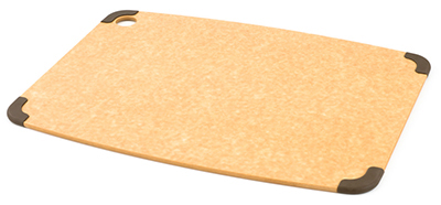 Epicurean 202-18130102 Non Slip Cutting Board, 17.5x13-in, Natural/Brown