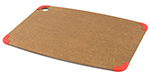 Epicurean 202-18130301 Non Slip Cutting Board, 17.5x13-in, Nutmeg/Red