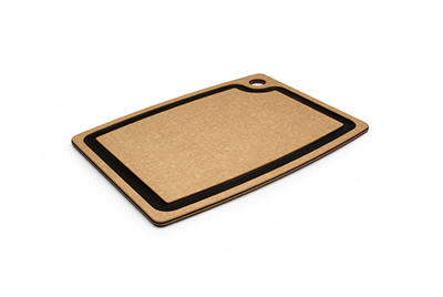 Epicurean 003-15110102 Gourmet Cutting Board, 14.5x11.25-in, Natural/Slate