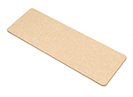 Epicurean 329-170601 Flat Bread Board. 17x6x.19-in, Natural