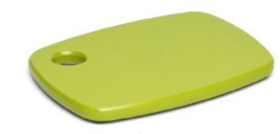 Epicurean 404-080605 Eco Plastic Cutting Board, 8 x 6-in, Poly, Green w/ Gripper Feet
