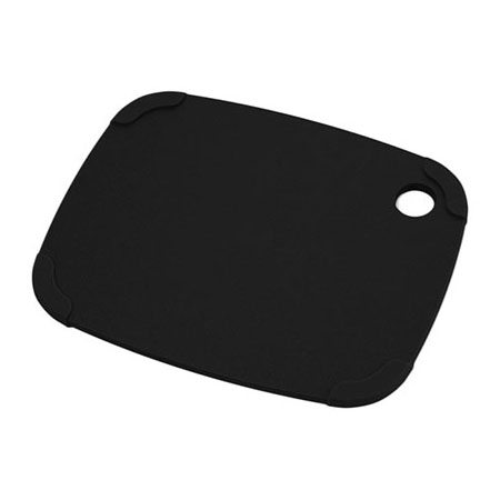 "Epicurean 404-120903 Eco Plastic Cutting Board w/ Non-Slip Corners, 12"" x 9"", Poly, Black"