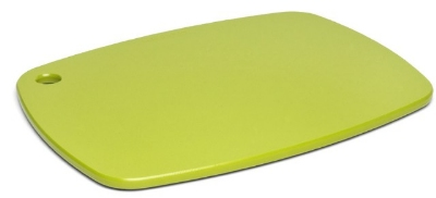 "Epicurean 404-120905 Eco Plastic Cutting Board, 12 x 9"", Poly, Green w/ Gripper Feet"