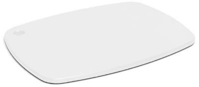Epicurean 404-181307 Eco Plastic Cutting Board, 18 x 13-in, Poly, White w/ Gripper Feet