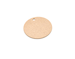 "Epicurean 429-000801 8"" Round Pizza Boardw/ .25"" Height, Natural"
