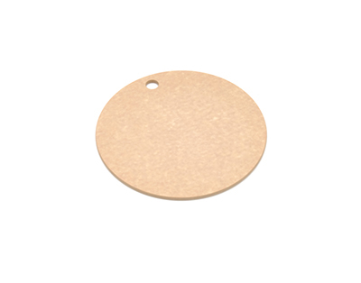 "Epicurean 429-001001 10"" Round Pizza Boardw/ .25"" Height, Natural"