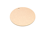Epicurean 429-001201 12-in Round Pizza Boardw/ .25-in Height, Natural