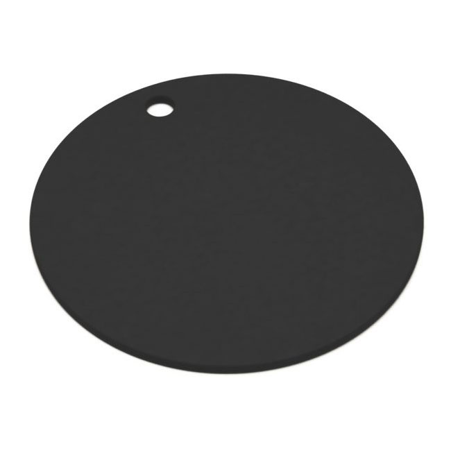 "Epicurean 429-001202 12"" Round Pizza Boardw/ .25"" Height, Slate"