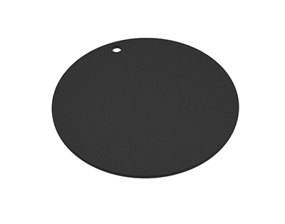 "Epicurean 429-001402 14"" Round Pizza Boardw/ .25"" Height, Slate"