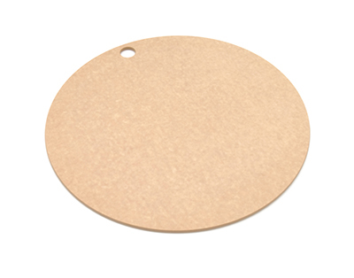 "Epicurean 429-001601 16"" Round Pizza Boardw/ .25"" Height, Natural"