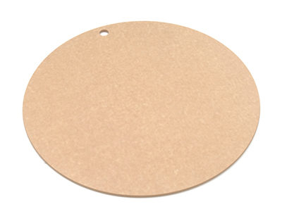 Epicurean 429-001801 18-in Round Pizza Boardw/ .25-in Height, Natural