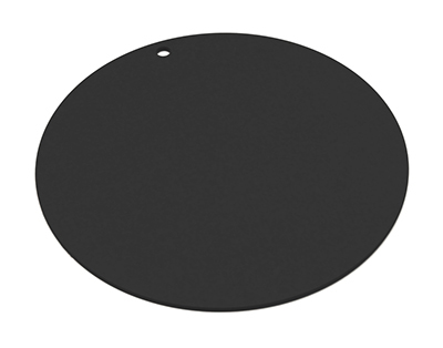 "Epicurean 429-001802 18"" Round Pizza Boardw/ .25"" Height, Slate"