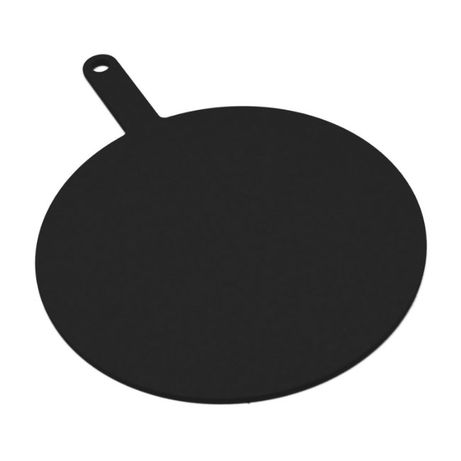 Epicurean 429-151002 10-in Round Pizza Board w/ 5-in Handle, Slate