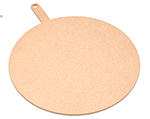 "Epicurean 429-211601 16"" Round Pizza Board w/ 5"" Handle, Natural"