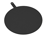 Epicurean 429-231802 18-in Round Pizza Board w/ 5-in Handle, Slate