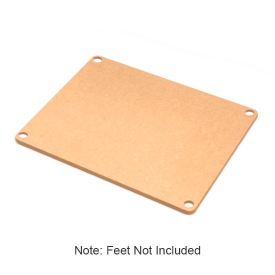 Epicurean 622-100701 Non Slip Board w/ Colored Feet & 10x7x.380in, Natural