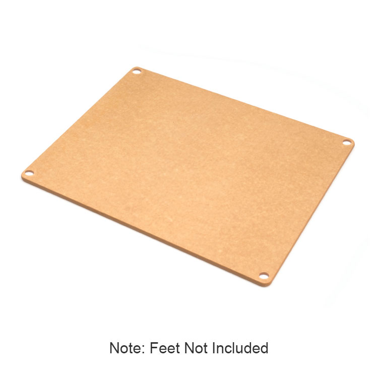 Epicurean 622-191501 Non Slip Board w/ Colored Feet & 19x15x.380in, Natural