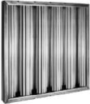 Hyman Podrusnik AB20252 Aluminum Baffle Filter, 20 in H x 25 in W  X 2 in