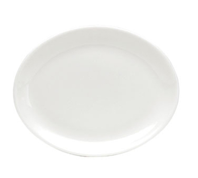 Oneida F1400000355 Oval Platter w/ Rolled Edge, Tundra, Oneida Collection, 11x8.5-in