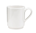 Oneida F1400000563 12-oz Stackable Mug, Tundra, Oneida Collection, 4.62-in