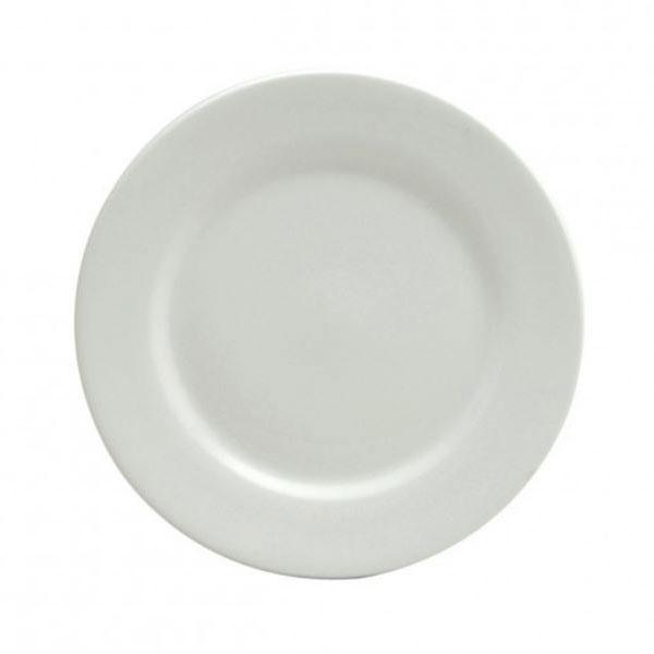 Oneida F8010000111 5.5 Buffalo Plate - Porcelain, Bright ...