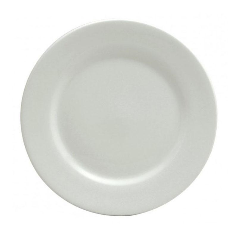 Oneida F8010000163 12 Buffalo Plate - Porcelain, Bright W...