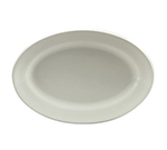 "Oneida R4220000383 14.5"" Oval Platter, Royale Undecorated, Sant' Andrea"