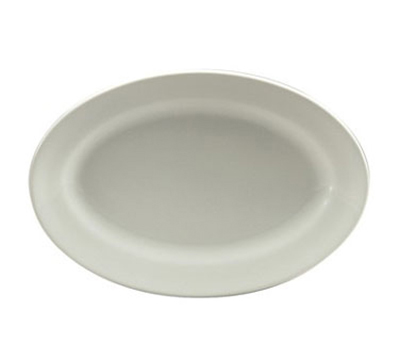 Oneida R4220000383 14.5-in Oval Platter, Royale Undecorated, Sant' Andrea